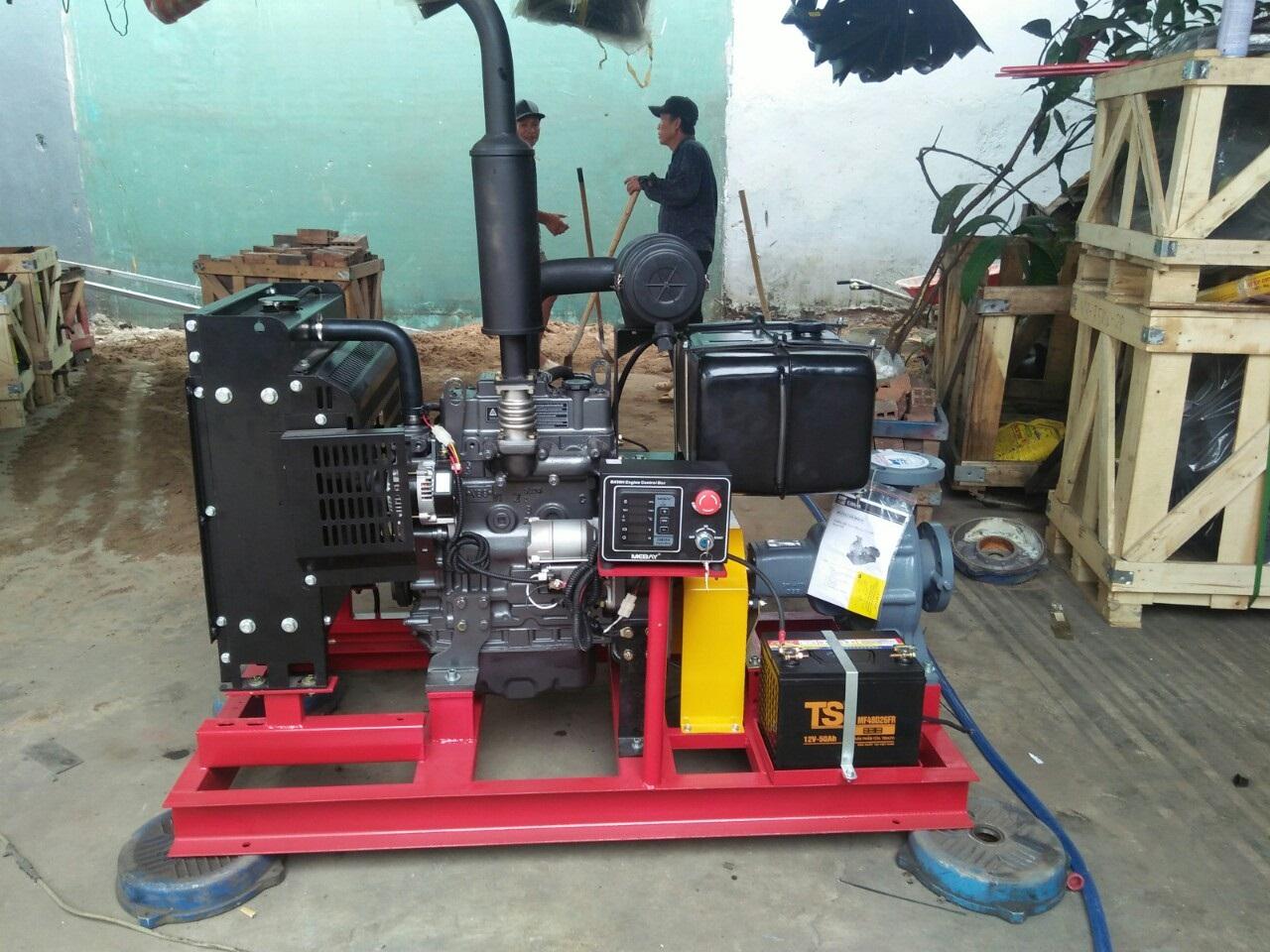 Máy bơm diesel đầu EBARA