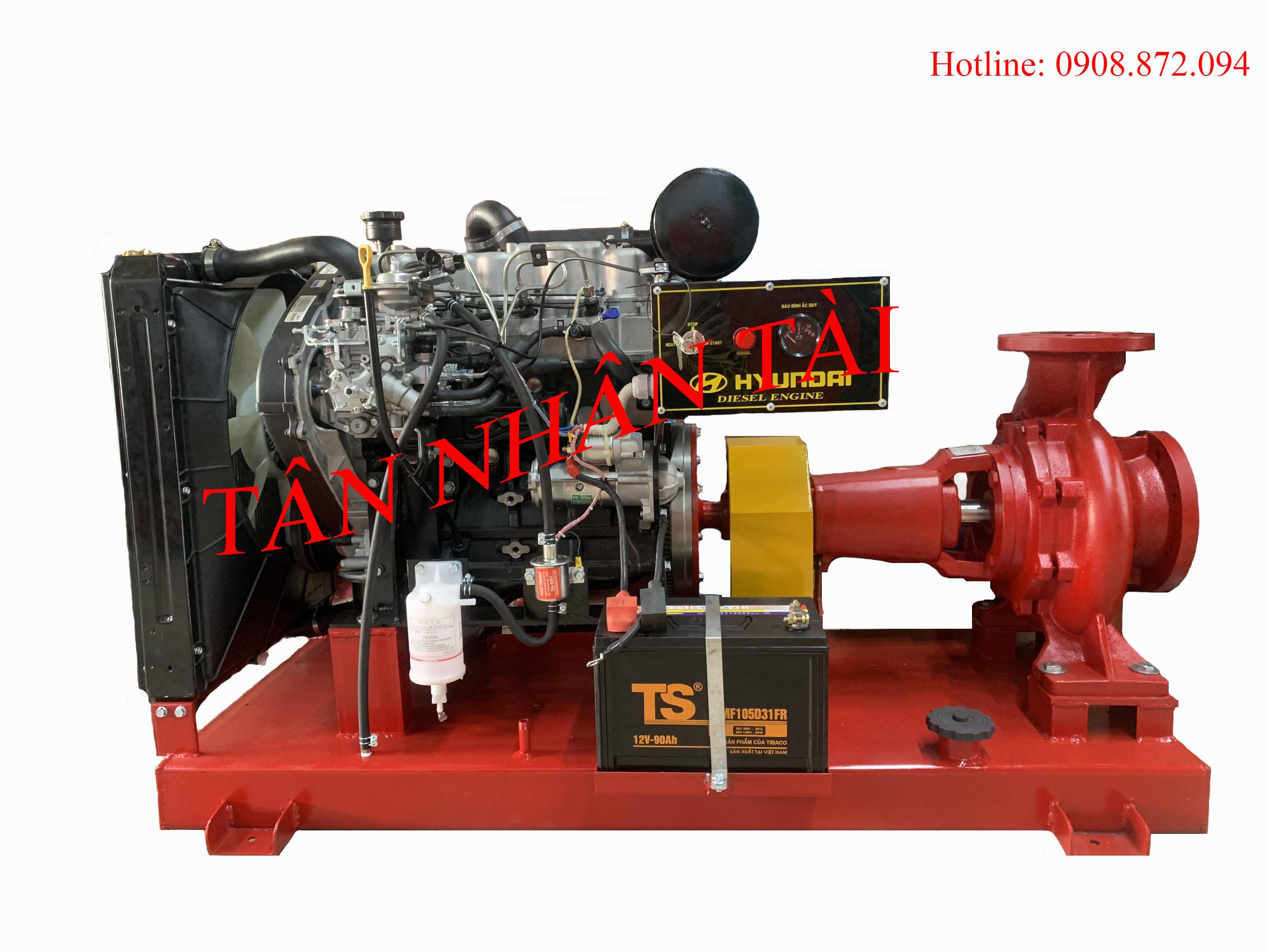 máy bơm diesel D4BH