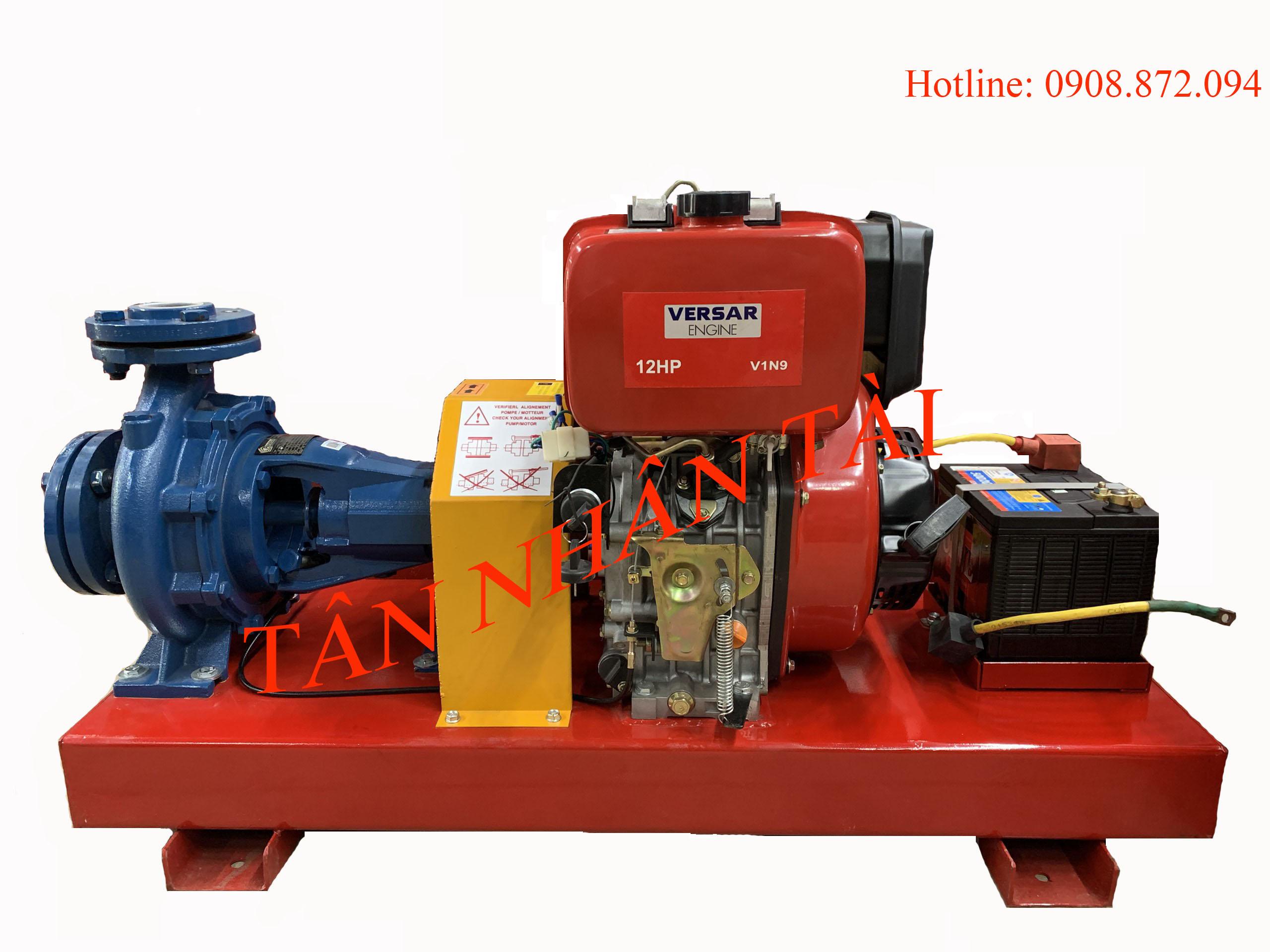 Máy bơm diesel VERSAR 9kw