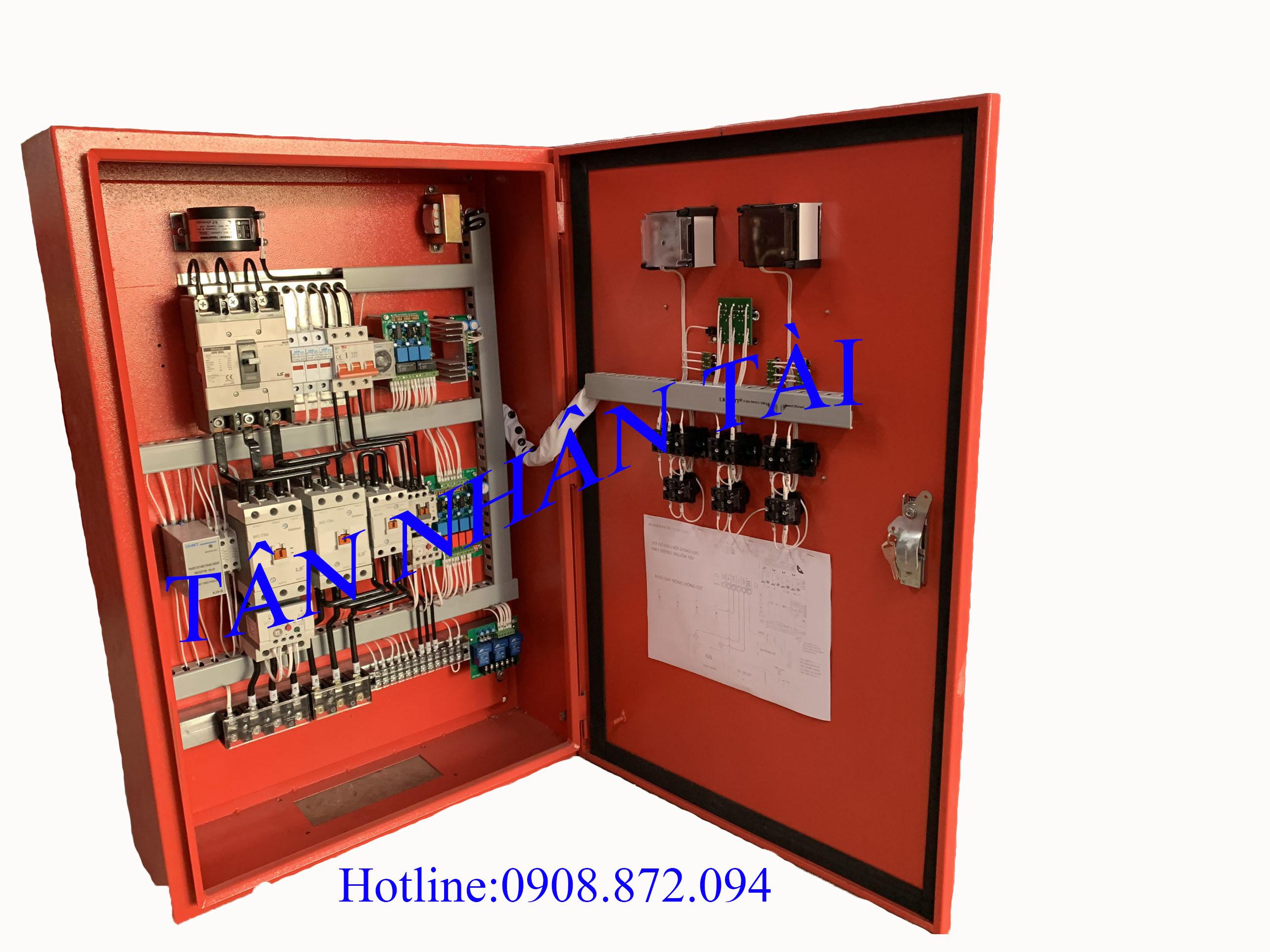 tủ điều khiển LS 75hp