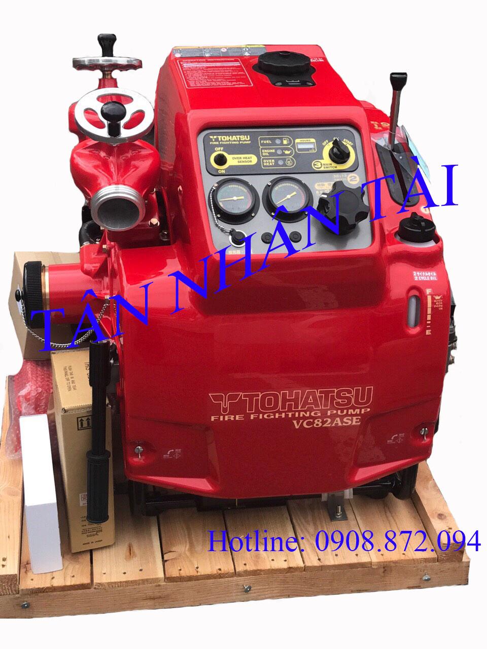 máy xăng tohatsu VC82